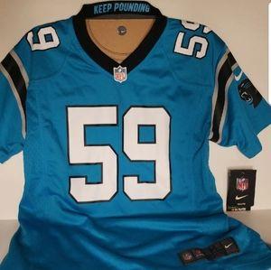 Brand NEW Nike Youth Luke Kuechly NFL Jersey